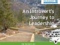 An Introvert's Journey to Leadership