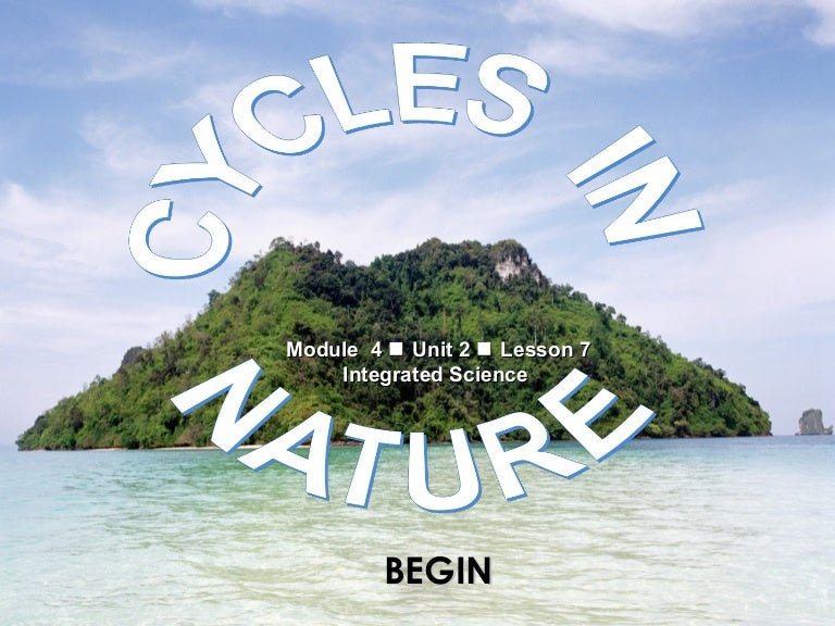 4 cycles in nature