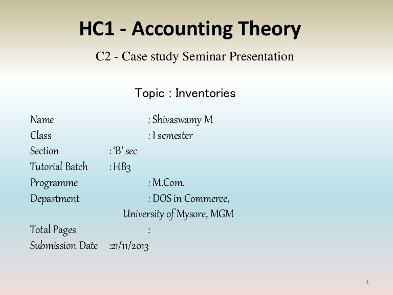 accounting theory case 1 6 Chap 1 - text accounting theory of 36  case 1-6 accounting in crisis during the early 2000s, the role of accounting and the auditing profession changed and several accounting scandals were uncovered required: a what conditions caused accounting and the.