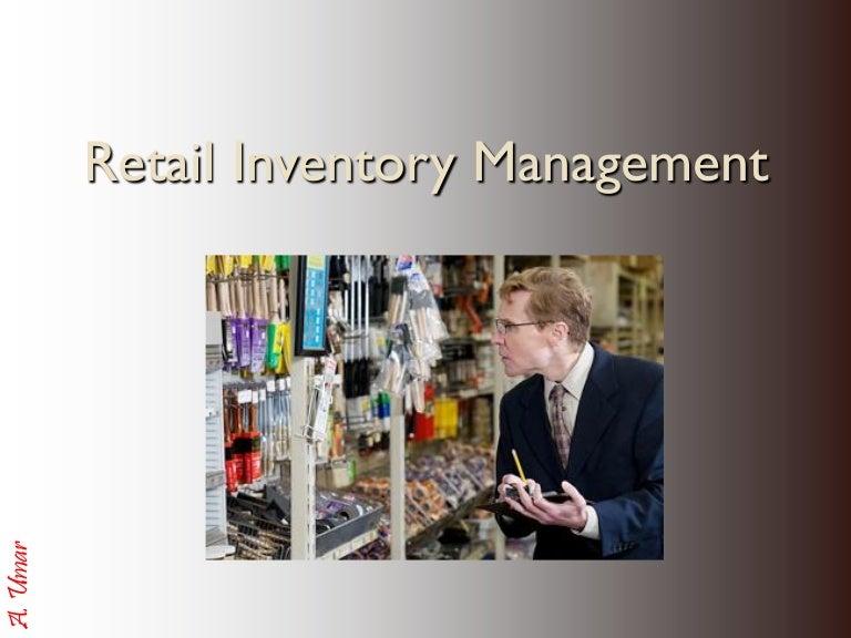 Retail Inventory management & Control