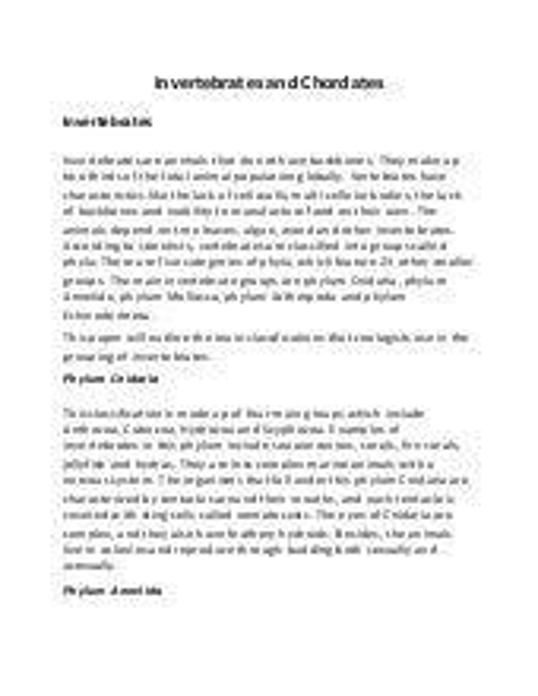 Community profile essay