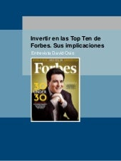 Invertir en las Top Ten de la revista Forbes