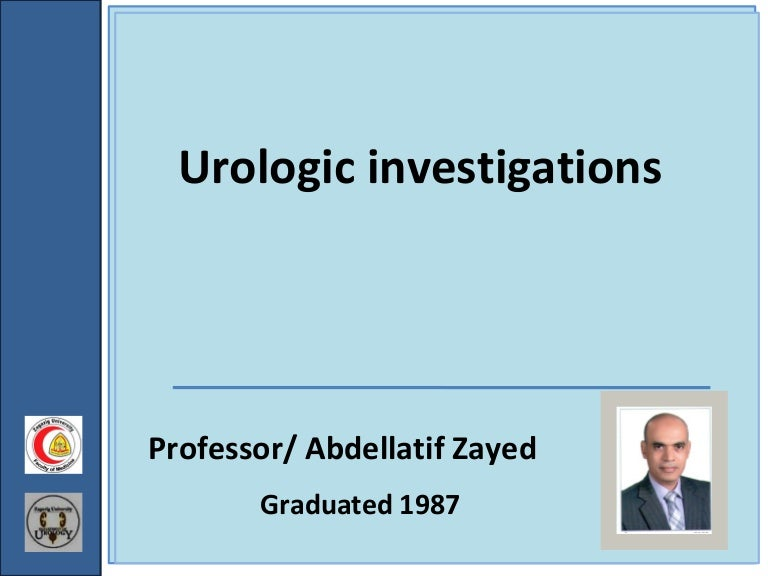 Investigative Urology 3