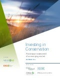 Investing in Conservation