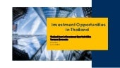 Investment Opportunities in Thailand (Webinar)
