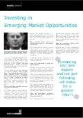 Investing in Emerging Market Opportunities: Interview with: Dr. Paul Gelderloos, MENA Telecom Infrastructure Fund - Middle East Investments Summit