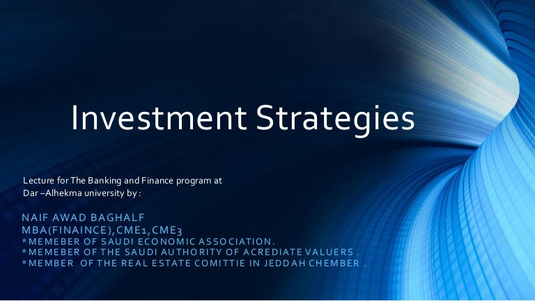 Investing strategies for college students slideshare