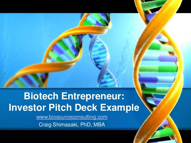 how to develop a powerpoint pitch deck for biotech investor presentat…, Presentation templates