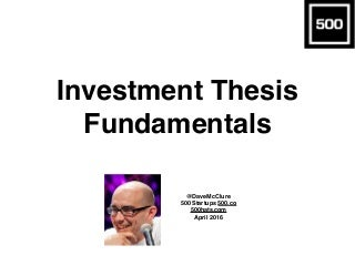 Dissertation report on investment banking