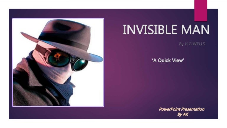 invisible man characterization A list of all the characters in invisible man the invisible man characters covered include: the narrator, brother jack, tod clifton, ras the exhorter, rinehart, dr bledsoe, mr norton, reverend.