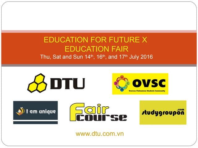 Invitation to education_for_future_x_education_fair_dtu