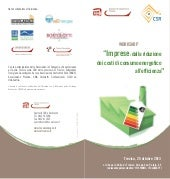 "WORKSHOP "" ""Imprese: dalla riduzione dei costi di consumo energetico all'efficienza"""