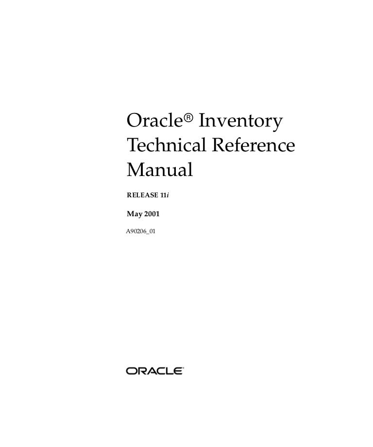 oracle apps inventory rh slideshare net Oracle Fusion oracle apps technical reference manual r12