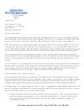Letter to Gov. Cuomo Detailing How Oil & Gas Industry is Leaving NY