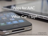 Apps for AAC