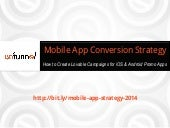 iOS Mobile App Promotion Strategy 2014