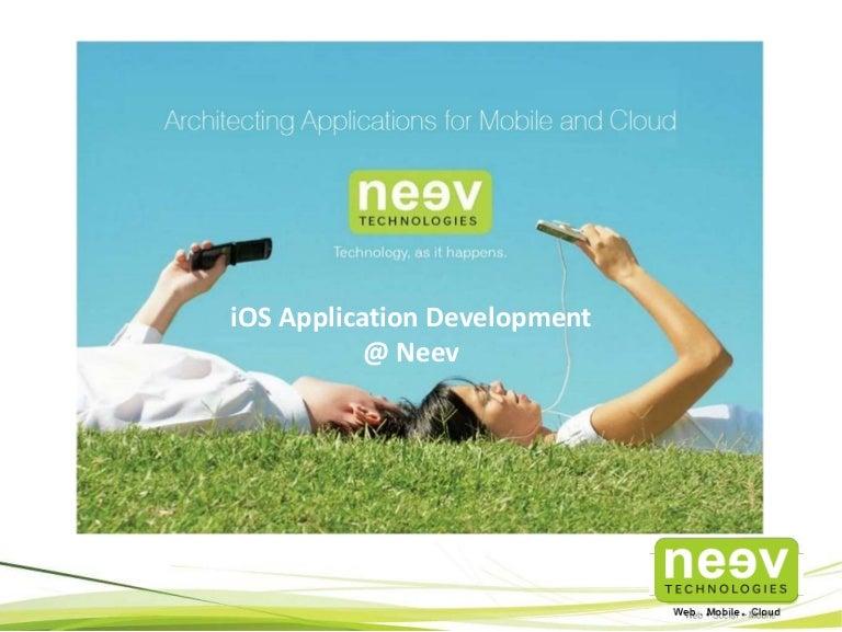 iOS Application Development @ Neev