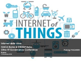 Internet of Things - Privacy and Security issues