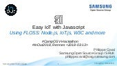 Easy IoT with JavaScript