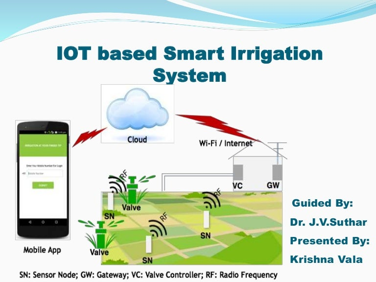 Iot Based Smart Irrigation System