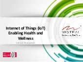 Internet of Things enabling Health and Wellness