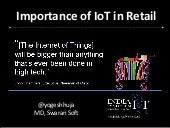Importance of IoT in Retail