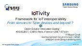Framework for IoT Interoperability