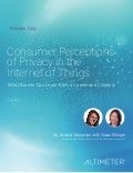 [Report] Consumer Perceptions of Privacy in the Internet of Things