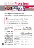 Etude Insee comptes de la nation 2016