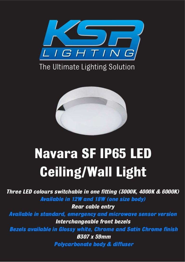 Ip65 Surface Mounted Led Ceiling Lights By Ksr Lighting
