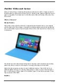 iPad Mini VS Microsoft Surface