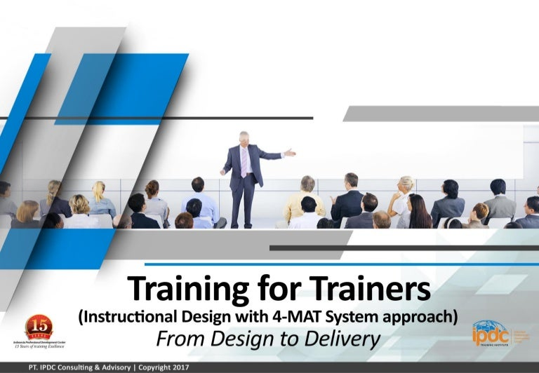 Ipdc Training Train The Trainer