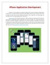 iPhone App Development iphone Game Development | Devlon Infotech