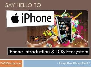 iPhone Seminar Part 1