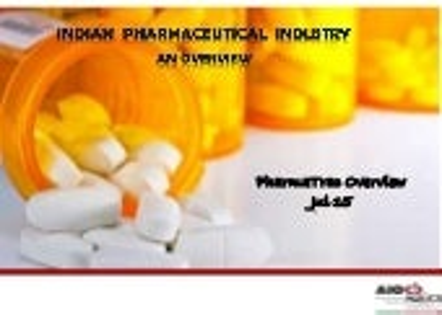 Indian Pharma Market - July 2015 Highlights
