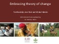 Embracing Theory of Change