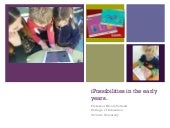 Ipossibilities: technology in early years