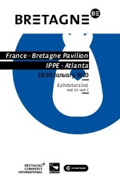 Breton companies at IPPE 2020
