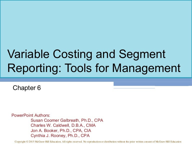 cost accounting a managerial emphasis 14th edition chapter 6 solutions