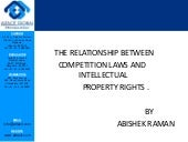 Ipr and competition laws