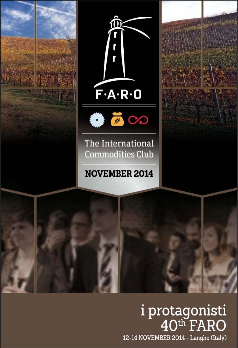 Andrea Londo Nua i protagonisti - 40th faro meeting | 12/14 november at