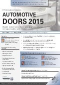 8th International Congress Automotive Doors 2015
