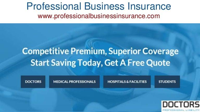 Professional business insurance www ...