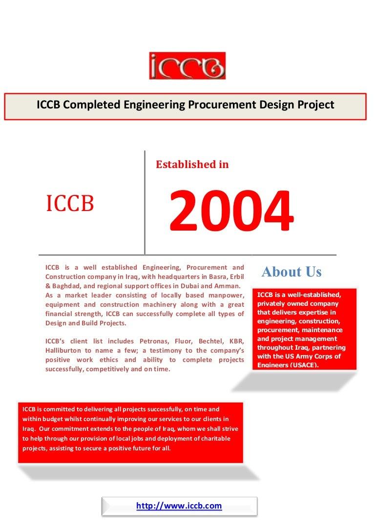 Iraqi Consultants & construction Bureau
