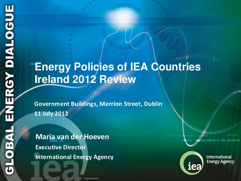 Energy Policies of IEA Countries : Ireland 2012
