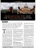 Iron and Clay Feet And The Four-Headed Leopard - Endtime Magazine Article - Jul-Aug 2006