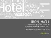 IRON Indice Reputacion Online Cadenas Hoteles 2011