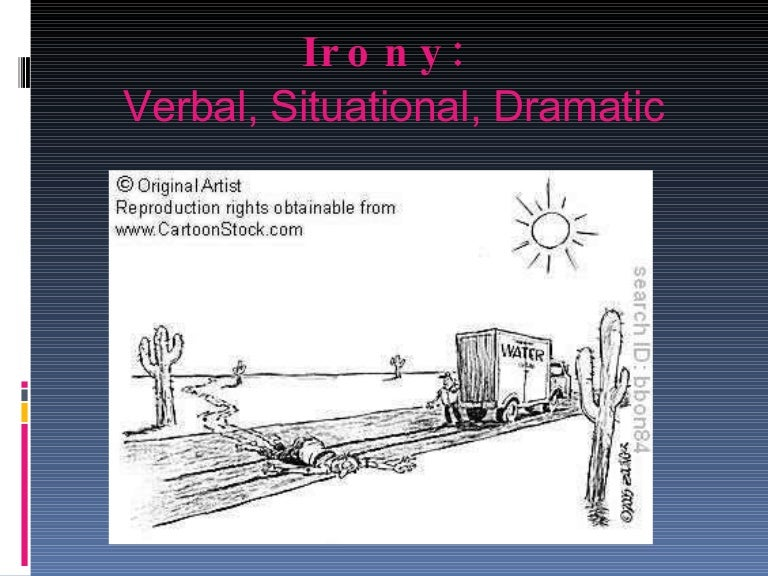 dramatic irony examples in literature