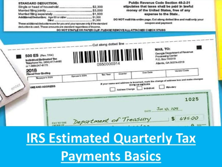 irs quarterly tax payment form 2014