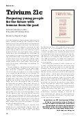 Trivium 21C Review in International School Magazine